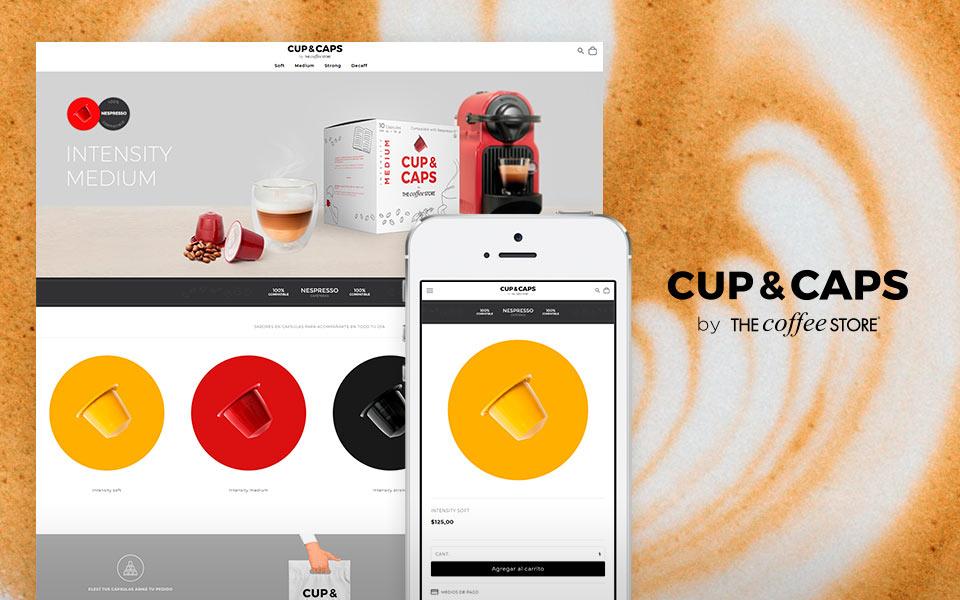 Cliente Cup and Caps tienda online