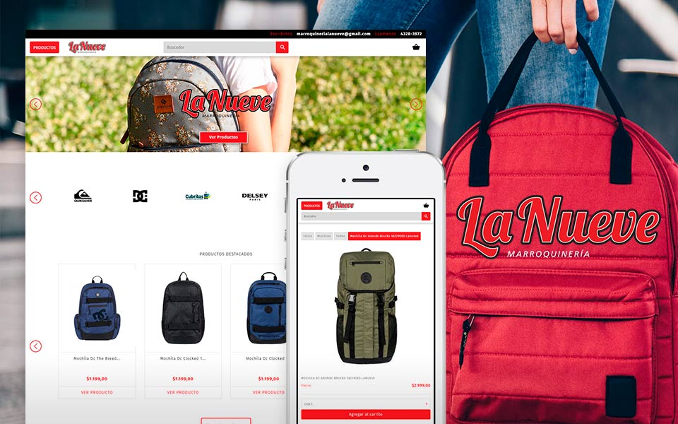 Cliente Le Nueve marroquinería tienda online