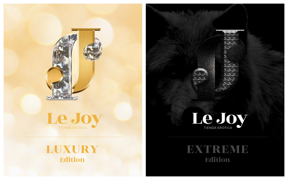 Ejemplos diseño de identidad Le Joy