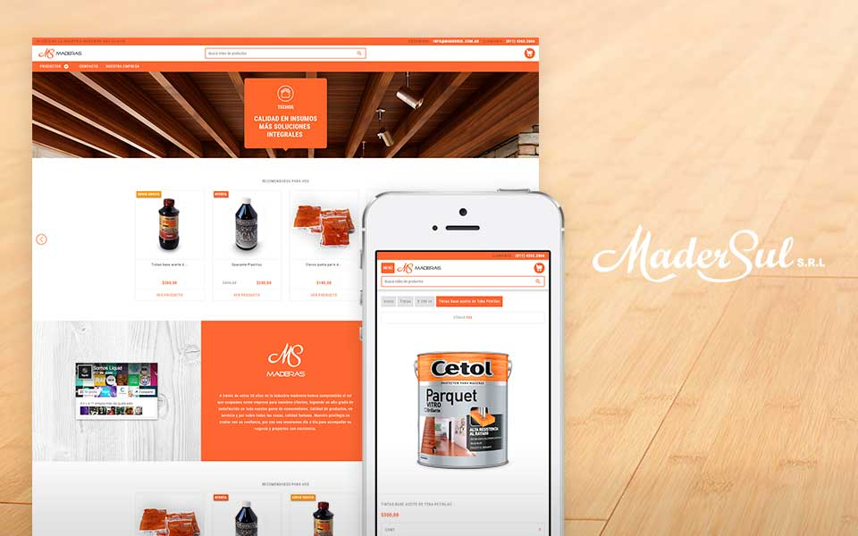 Cliente Madersul tienda online