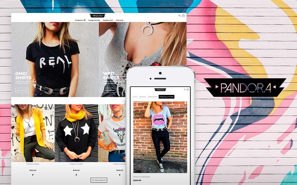 Cliente Pandora tienda online