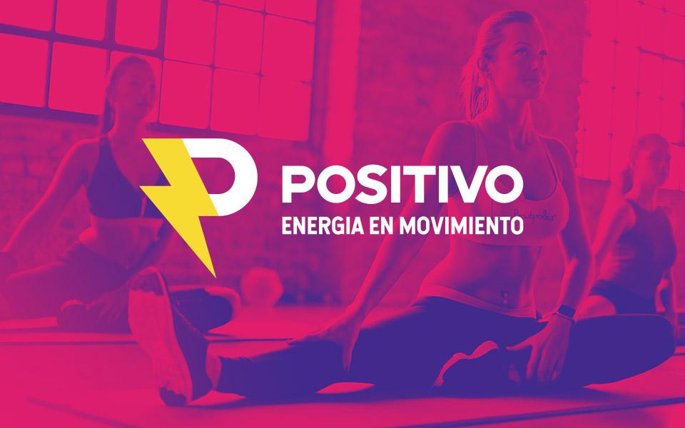 diseño de logo Positivo gimnasio