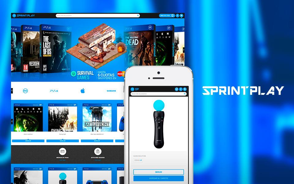 Cliente Sprintplay tienda online