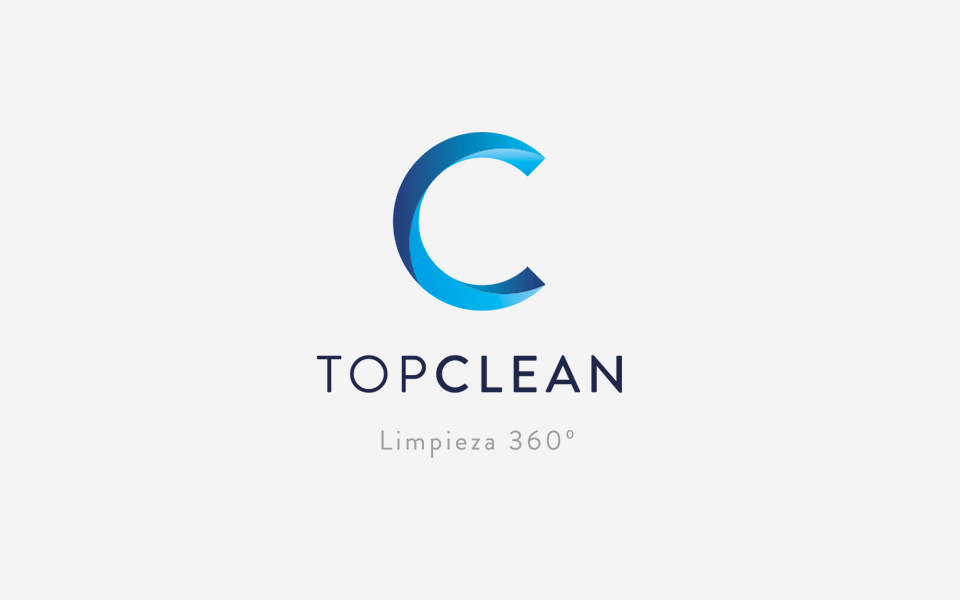 diseño de logo Top Clean