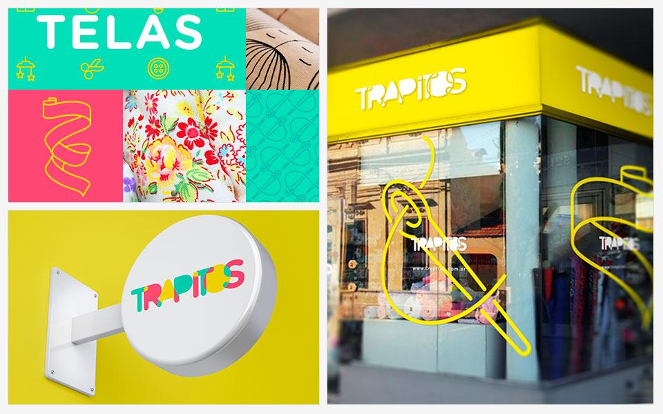 Ejemplos diseño de identidad Trapitos