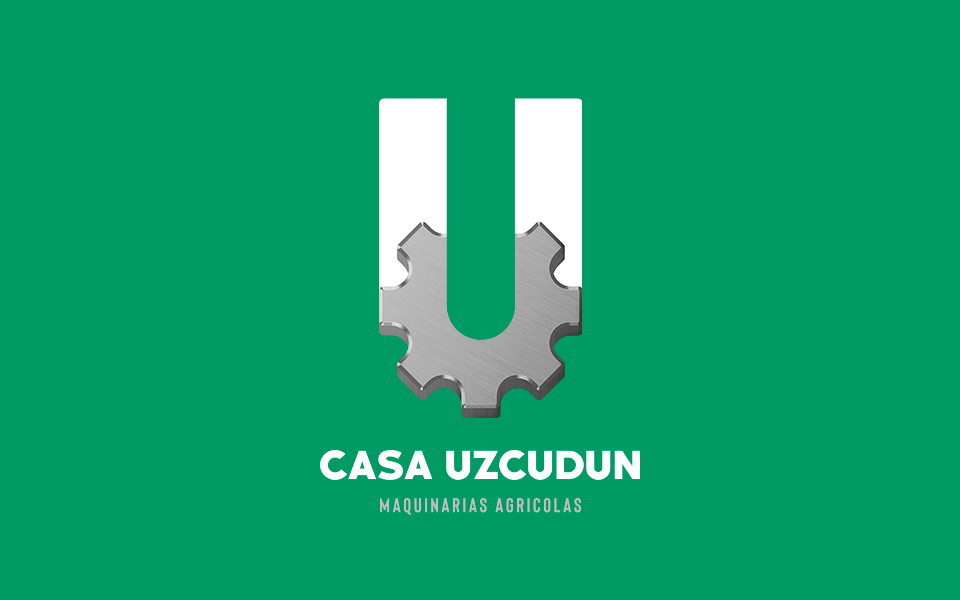 diseño de logo Casa Uzcudun