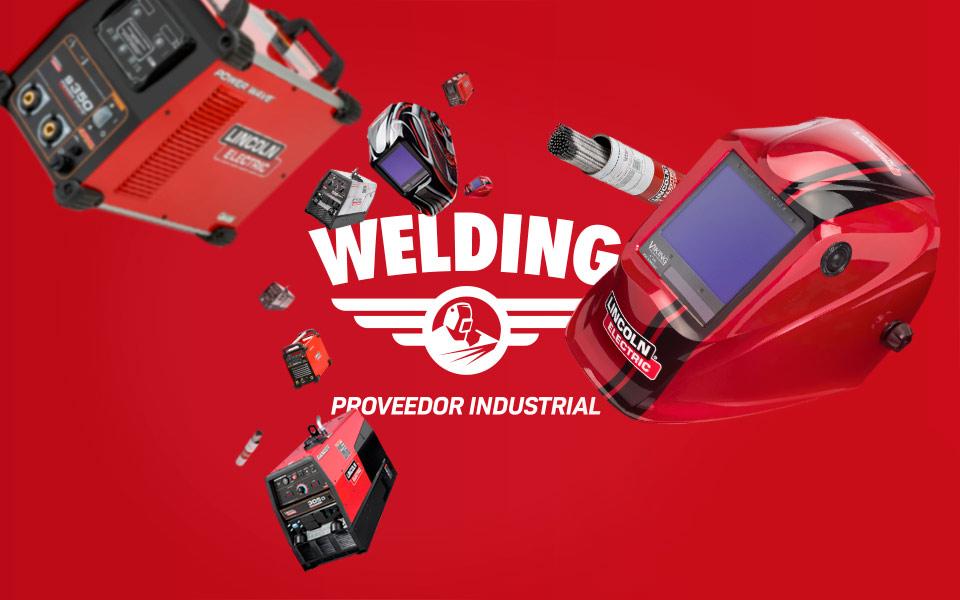 Proyecto destacado de rebranding: Welding soldaduras