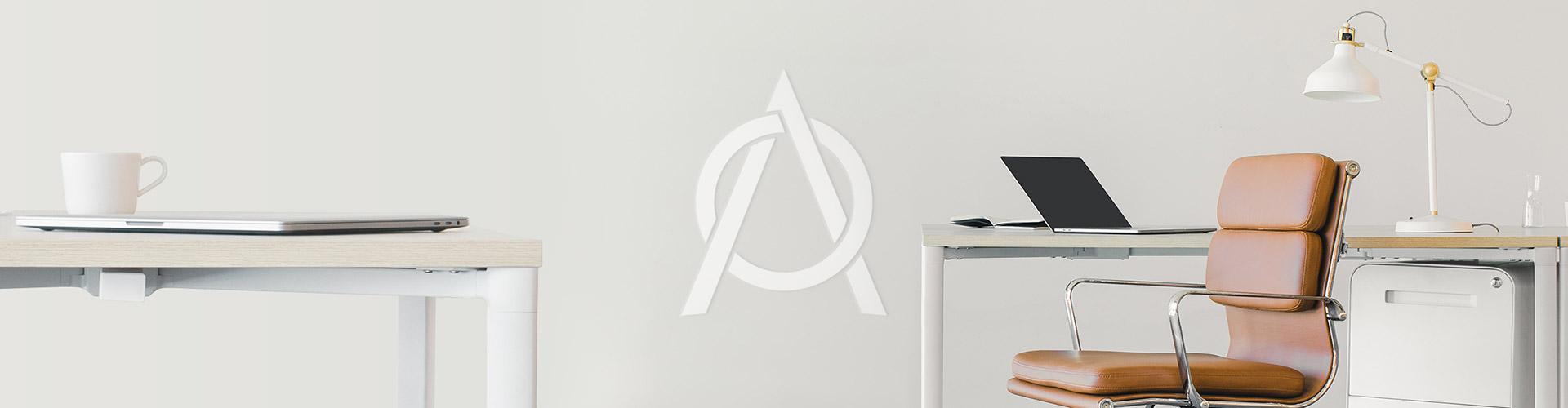 Portada del proyecto de Diseño de Identidad Corporativa y Branding: Estudio A, Servicios Contables.