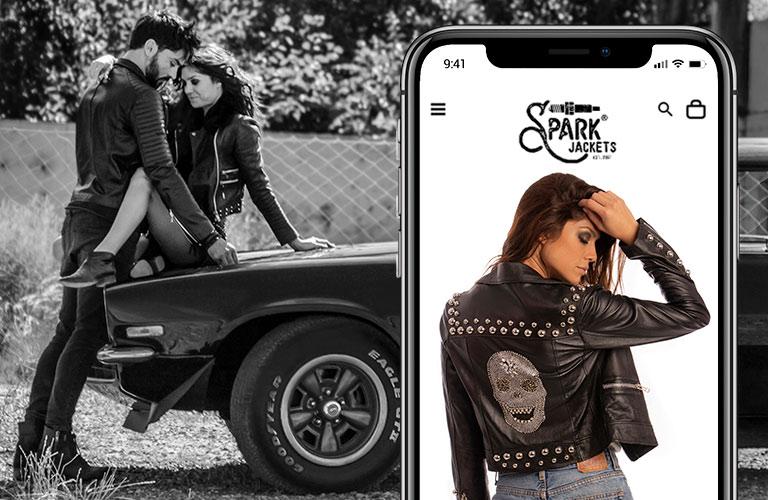 Proyecto destacado de desarrollo Web: Spark Jackets Tienda Online