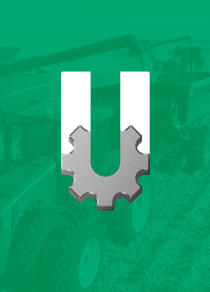 Portada del proyecto de Diseño de Identidad Corporativa y Branding: Casa Uzcudun, Maquinarias Agricolas.