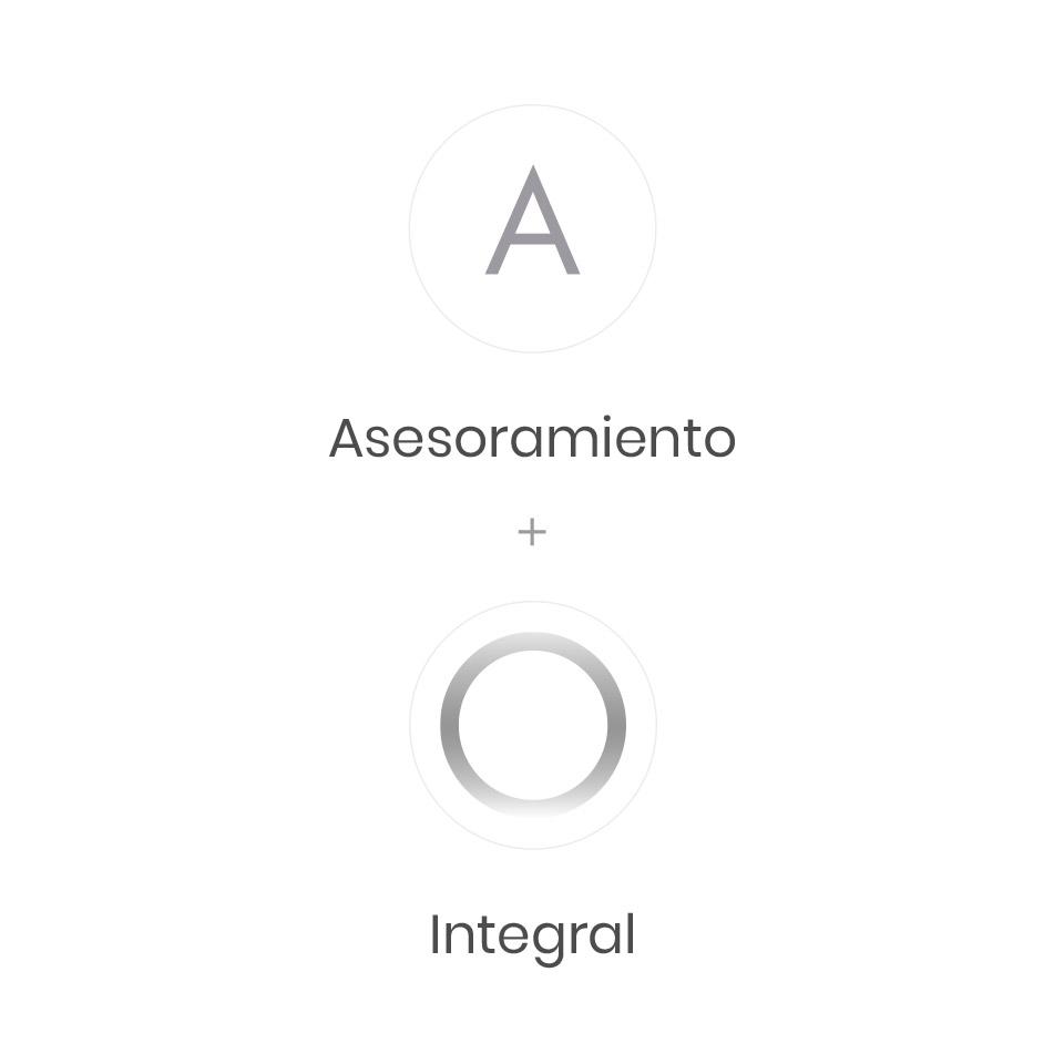 """Conceptos centrales para el Diseño del Logo: """"Asesoramiento"""" + """"Integral."""