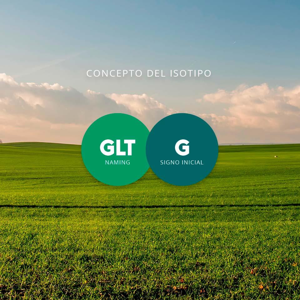 Concepto del Isotipo para GLT Distribuidora.