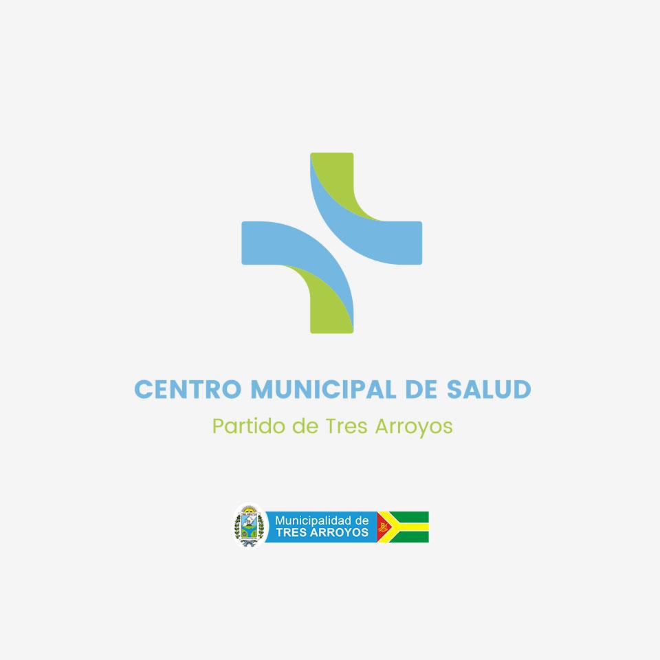 diseño de logo proyecto Centro de Salud partido de Tres Arroyos