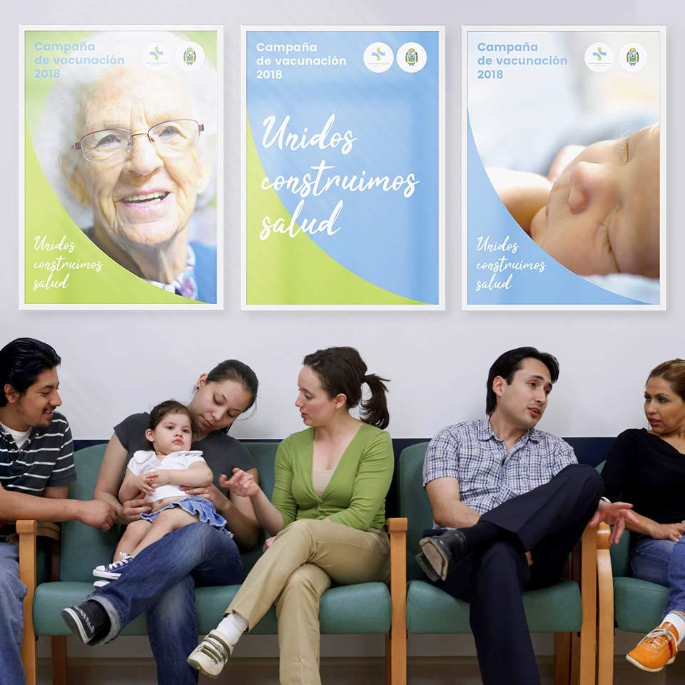diseño identidad corporativa proyecto Centro de Salud partido de Tres Arroyos