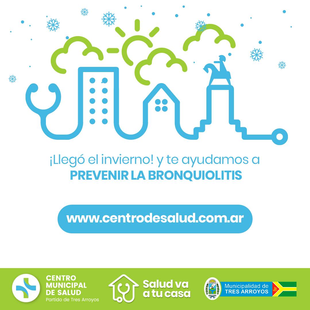 diseño gráfico para evento corporativo organizado por el Centro de Salud partido de Tres Arroyos