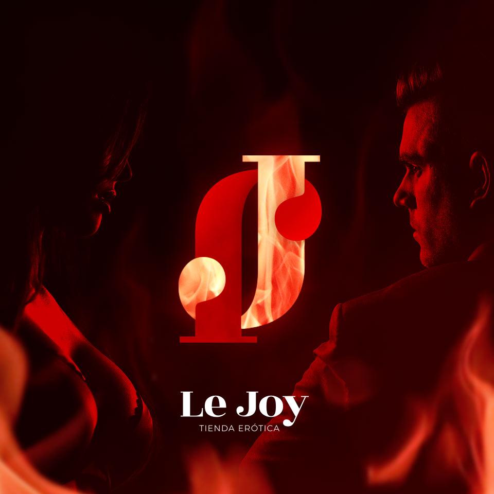 Portada del proyecto de Diseño de Identidad Corporativa, Branding y Desarrollo Web de: Lejoy, Tienda Erótica.