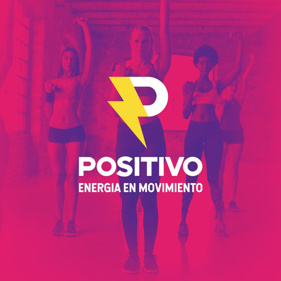 Portada del proyecto de Diseño de Identidad Corporativa y Branding: Positivo, Gimnasio.