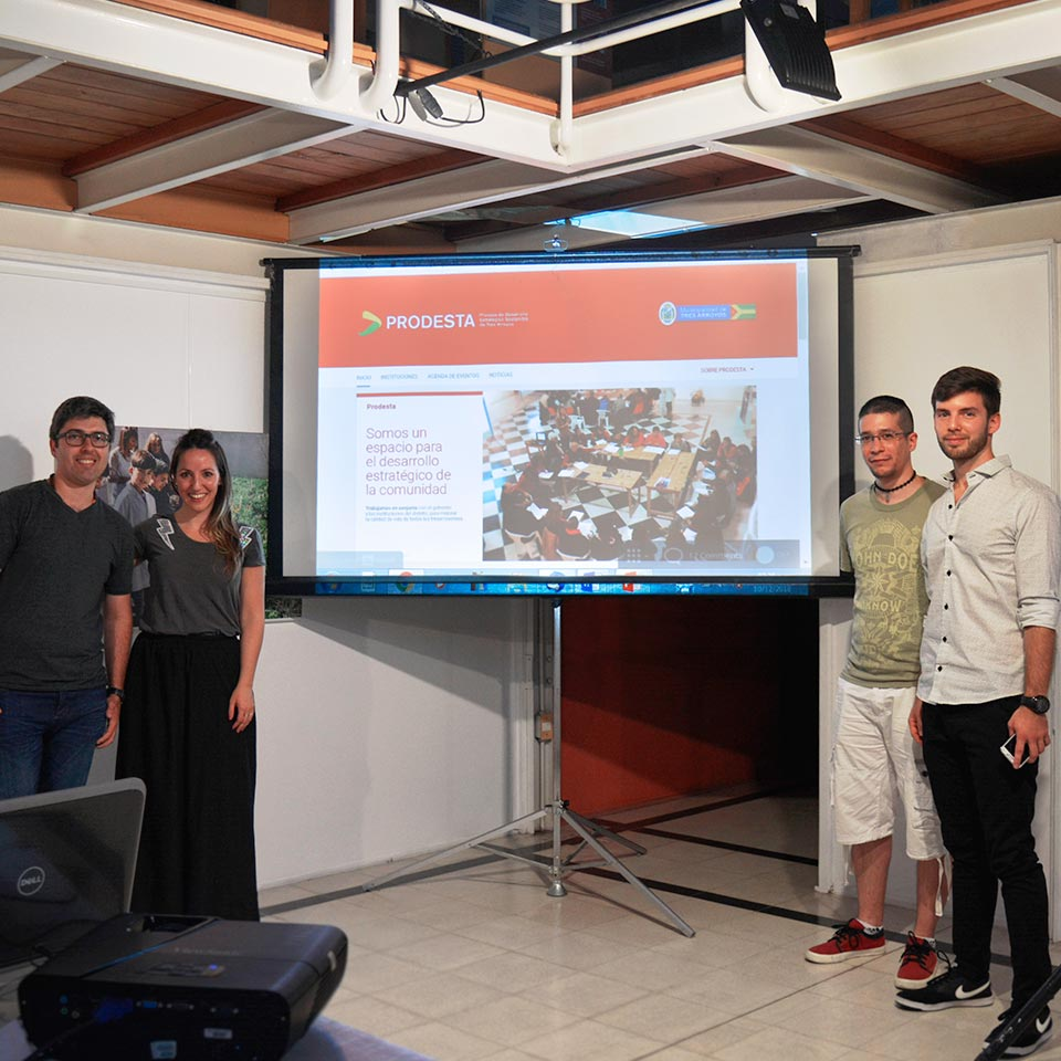 El equipo Liquid estuvo presente  en el evento de presentación del Sitio Web: https://prodesta.org.ar/inicio