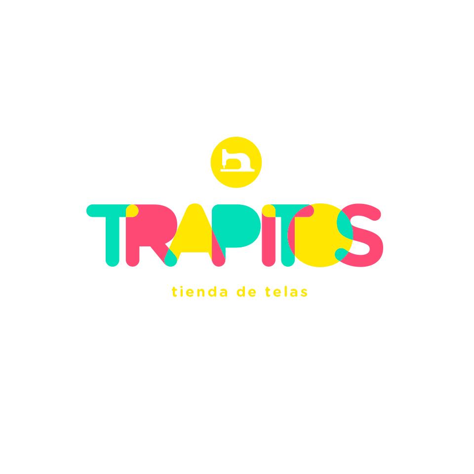 Diseño de Marca para Trapitos, tienda de telas.