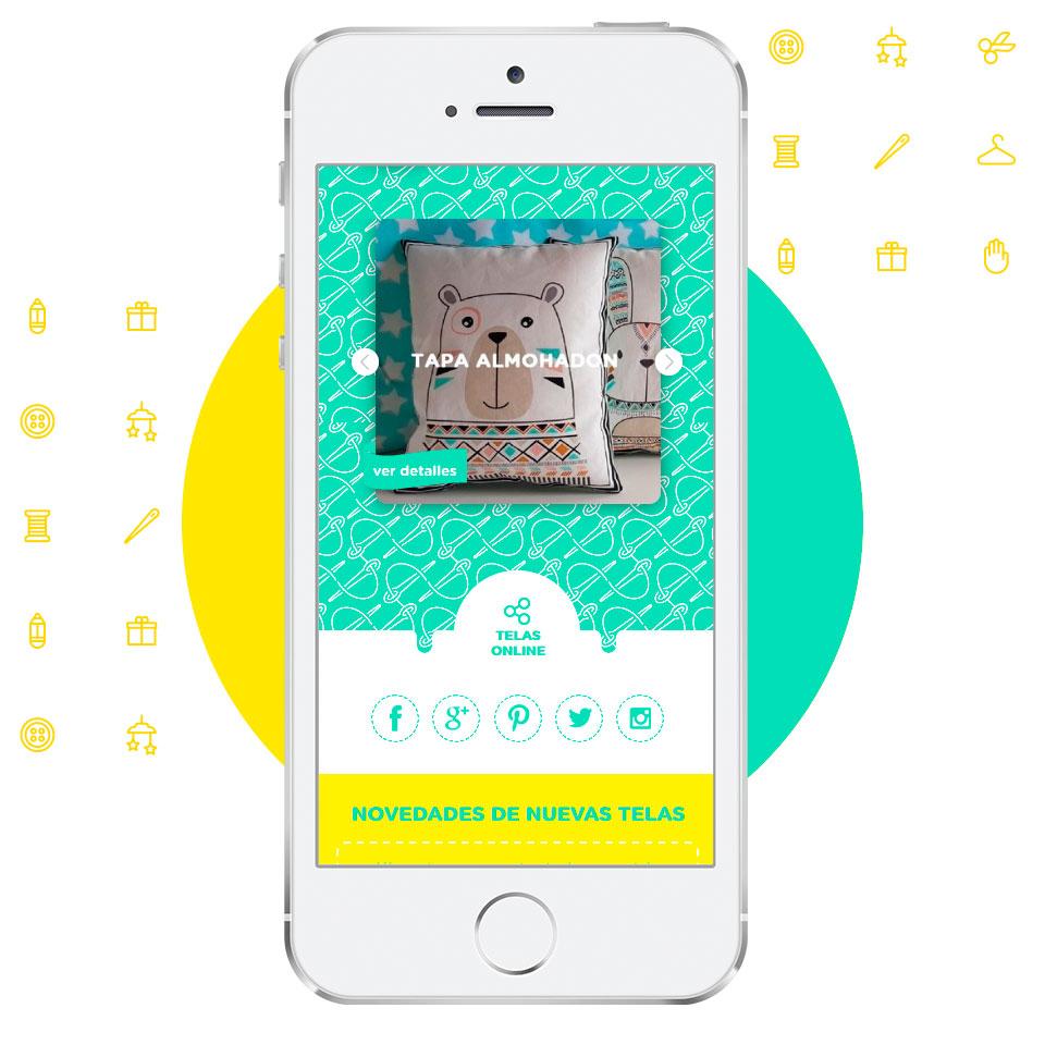 Diseño de Tienda Online para Trapitos, tienda de telas.