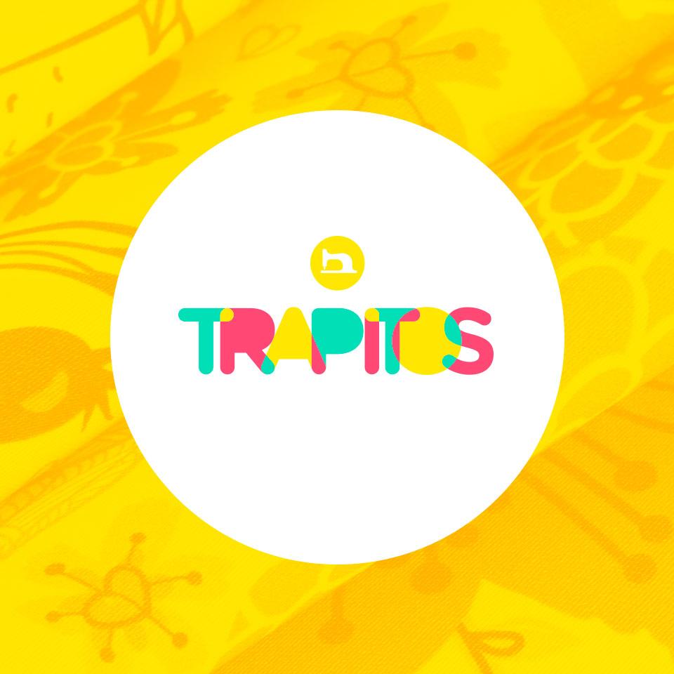 Portada del proyecto de Diseño de Identidad Corporativa, Branding y Desarrollo Web de: Trapitos, Tienda de Telas.