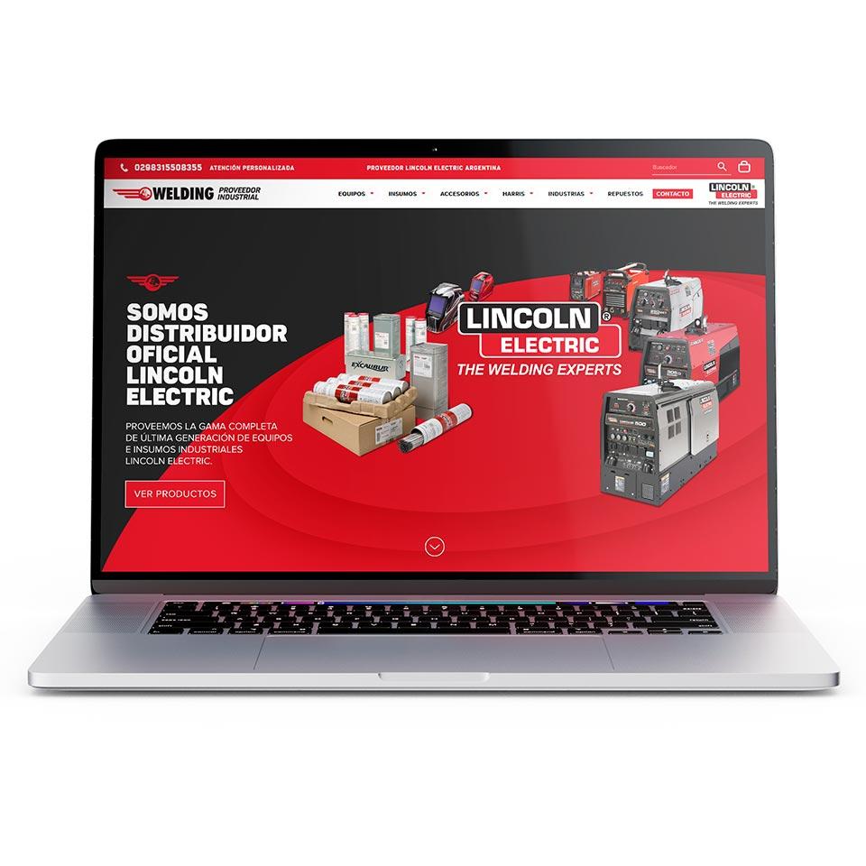 Diseño y Desarrollo de Sitio Web Institucional y Tienda Online para Welding Soldaduras.
