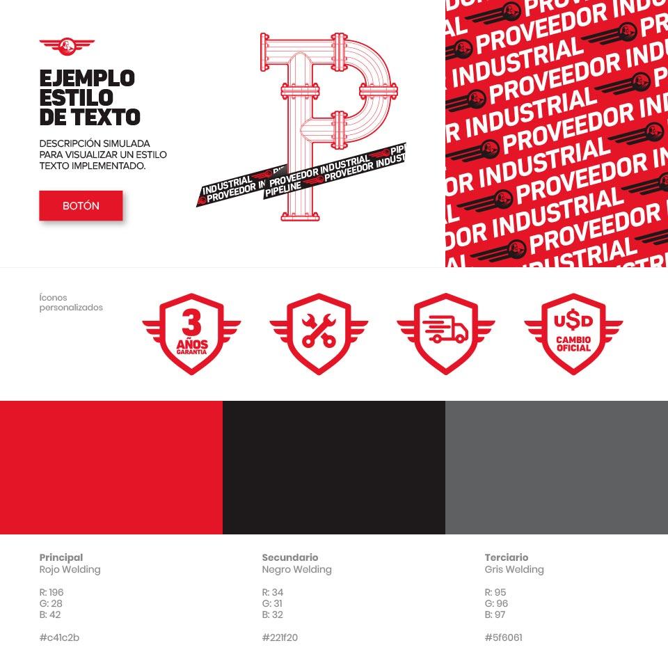 Diseño del Sistema Visual para Welding Soldaduras.