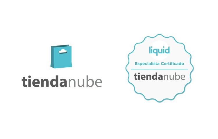 Liquid Estudio certificado en plataforma Tienda Nube